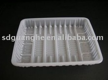 PS or PP blister plastic disposable food pack tray