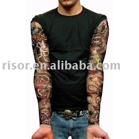 Tattoo Sleeves X 2, King of Hearts, New Tattoo Design (eBay item