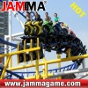 Crazy and stimulate amusement park roller coaster Motor Roller Coaster
