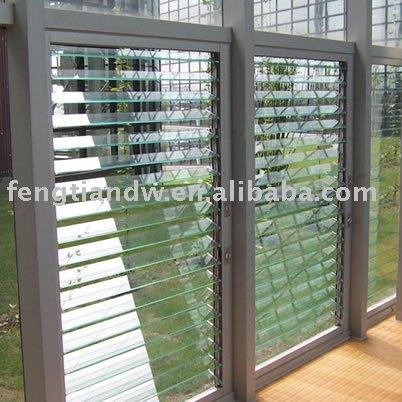 Window glass jalousie window glass seal for Jalousie window design