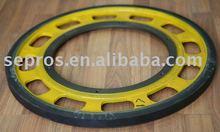 Handrail friction wheel