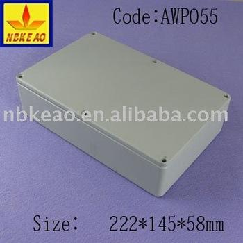 Aluminum extrusion sections enclosure