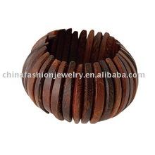 popular wood elastics bracelet