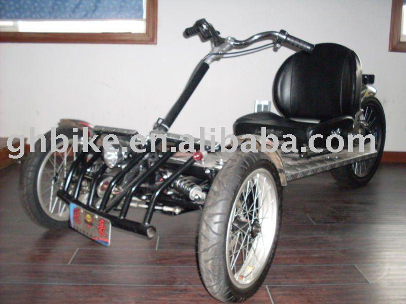 three wheel bicycle passed CE