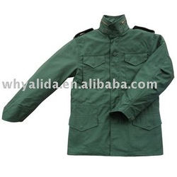 MILITARY ARMY STYLE OLIVE GREEN N/C M65 JACKET