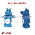 juguete de vinilo hipopótamo