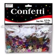 Shape Party Confetti - Colored Star