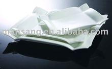 high temperature design food porcelain dishes