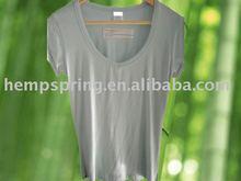 Bamboo women V-neck clothing