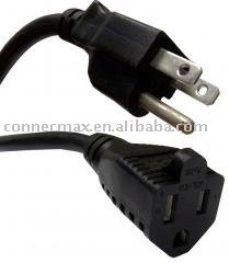 shielded ac power cord