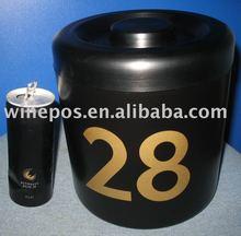 10l cubo de aluminio