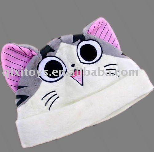 cat in hat images. animal cat plush hat(China