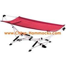 Portable folding hammocks
