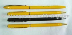 customize high quality brilliant yellow hotel pen P10098