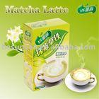 Matcha latte instant milk
