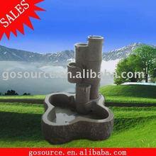 stone water fountain garden