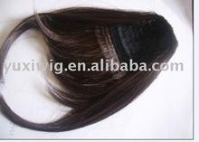 remy hair bangs w100460 human hair extension