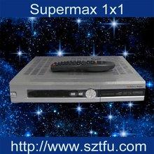 supermax numérique 1x1 de récepteur satellite de récepteur de dvb-s