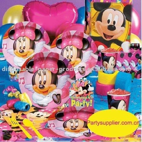 Minnie mouse fontes do partido-Artigos para eventos e para festas