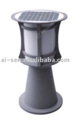 High Power Gray Aluminum Solar Garden Lamp-TWT30317