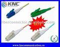 Lc-Faser-Optikzopf u. Steckschnür