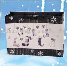 christmas stocking paper bag(CP-090)