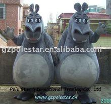 hippo mascot costume/river horse