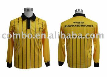 Sublimated football referee shirt