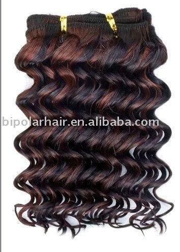 Cabelos sintéticos entension kanekalon cabelos trama do cabelo sintético