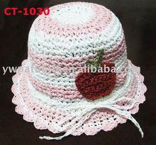 100% paper string children hat