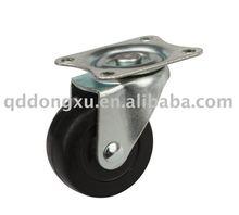 wheelbarrow solid rubber castor wheel