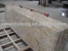 diamond golden granite countertop