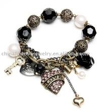 Latest Love heart charm bracelet