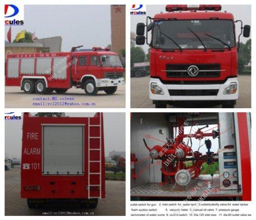 camión de los bomberos