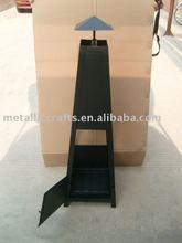 CMC Steel Chiminea - Black