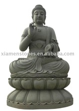 Green carving buddha