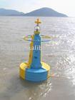 Emergency light UHMW PE navigation Buoy