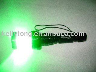 532nm green laser flashlight pointer/camping flashlight JL-072