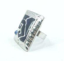 Fine Metal Rhinestone Rings ,low MOQ