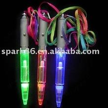 LED function flash ballpoint pen promotional pen