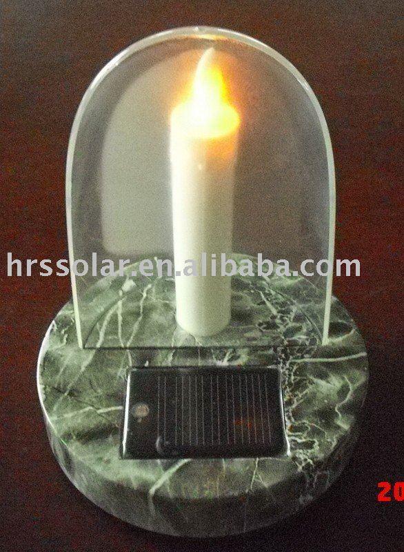 cimetière solaire lampe