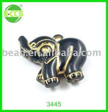3442BG elephant charms