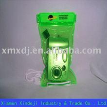 Green pvc waterproof bag for Electronics
