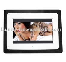 7inch muli-function function analog panel digital photo frame
