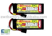 11.1V 1500mAh Li-Po Battery for 15C RC model