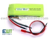 Li-Po battery for RC Plane
