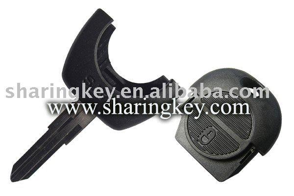 Nissa 2 pulsante remoto chiave del case( nuovo stile) per micra almera