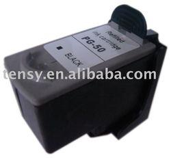remanufactured ink cartridge PG50_BK printer supplies