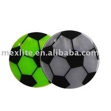 Reflective sticker football