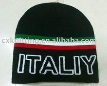 ITALIY knitted jacquard beanie